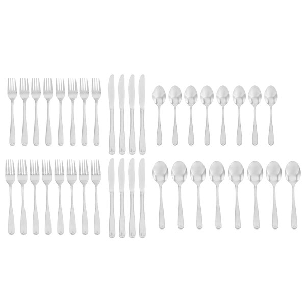 Pastrana 40-Piece Flatware Set by Winston Porter