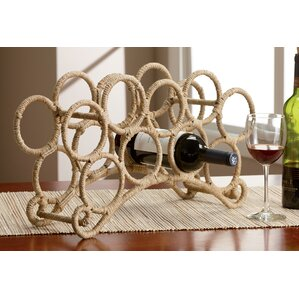 9 Bottle Tabletop Wine Rack by Kindwer