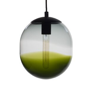 Modern green shade pendant lighting allmodern save aloadofball Images