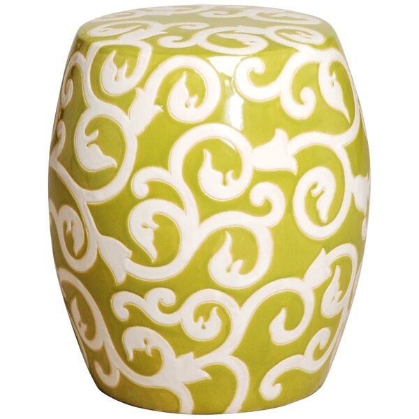 Vine Garden Stool by Emissary Home and Garden