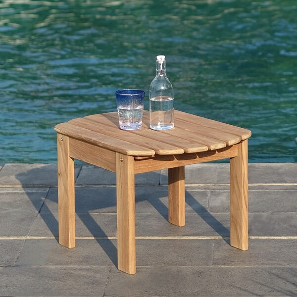 Cynthia Teak Side Table By Bayou Breeze