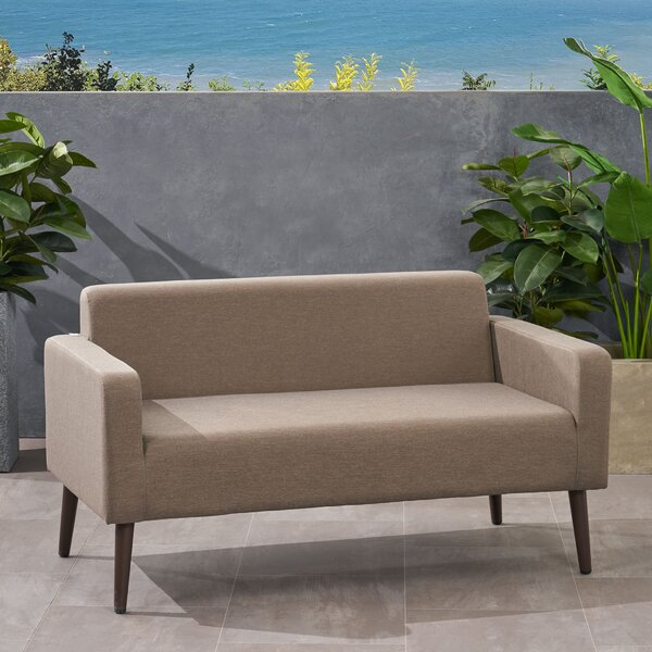 Vermilion Loveseat with Cushions by Ivy Bronx