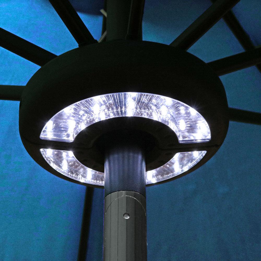 Freeport Park Brionna Patio Umbrella LED Lighting U0026 Reviews | Wayfair