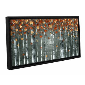 Copper Birch Framed Graphic Art by Latitude Run