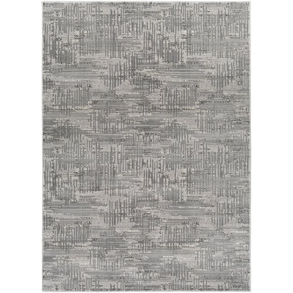 Zach Gray Area Rug by Wade Logan
