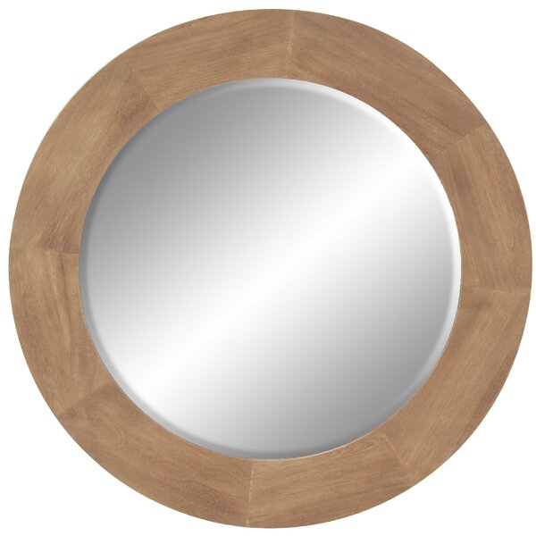 Traci Modern Round Accent Mirror by Corrigan Studio