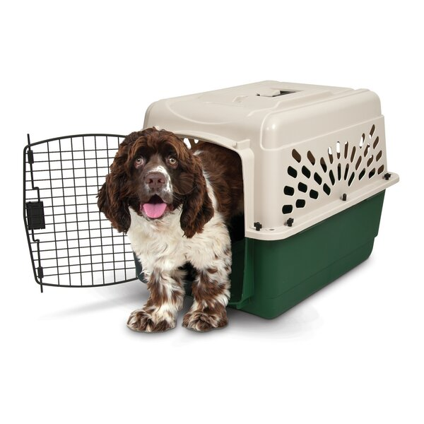 Plastic Dog Crate Carrier By Ruff Maxx.