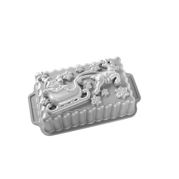 Santa's Sleigh Non-Stick Loaf Pan by Nordic Ware