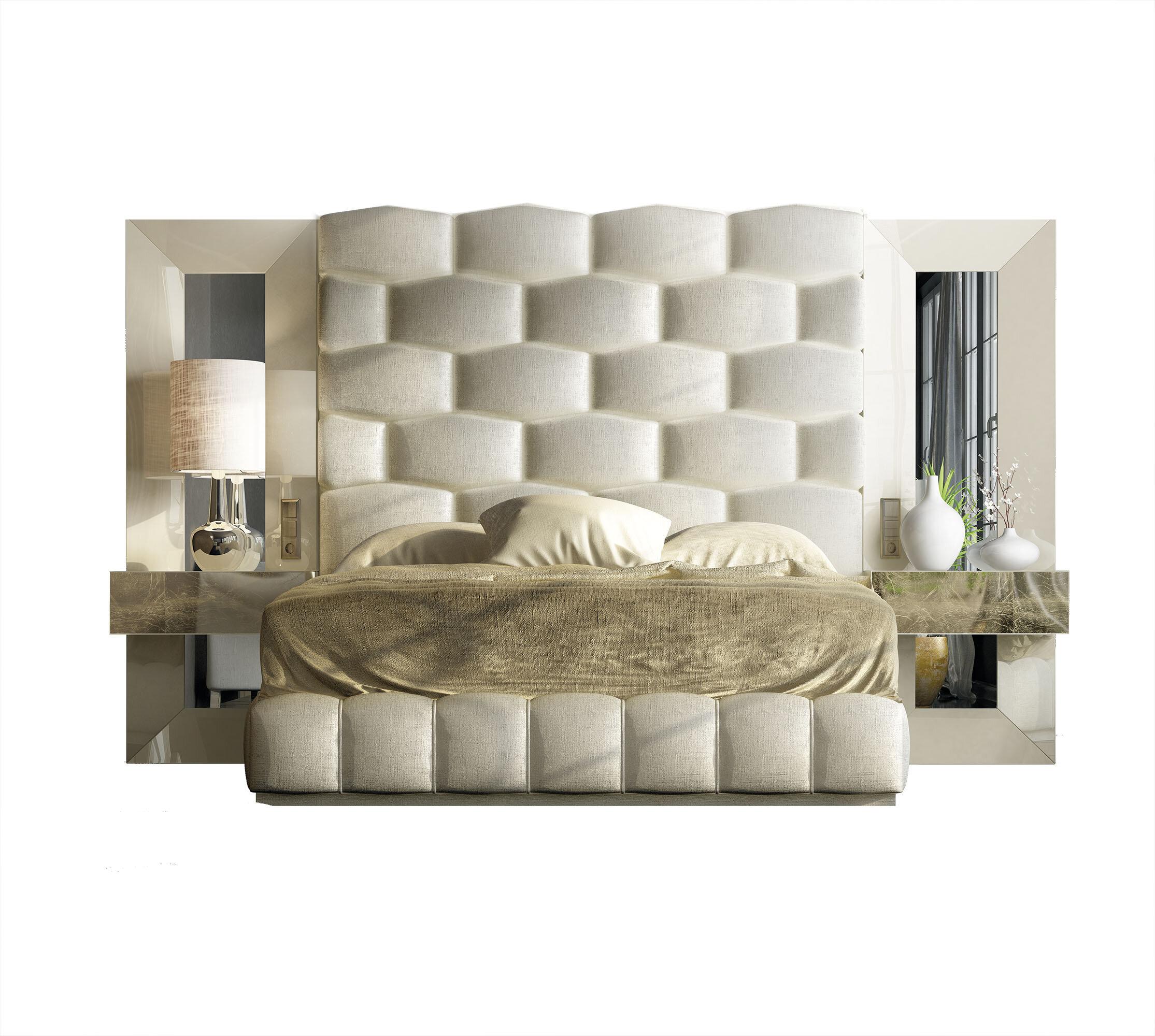 Everly Quinn Jerri King Platform 5 Piece Bedroom Set Wayfair