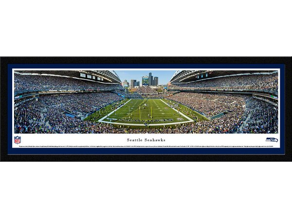 NFL Seattle Seahawks by Christopher Gjevre Framed Photographic Print by Blakeway Worldwide Panoramas, Inc