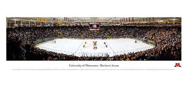NCAA Hockey Photographic Print by Blakeway Worldwide Panoramas, Inc