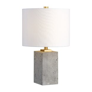 Modern contemporary brushed nickel table lamps allmodern braunstein 17 table lamp mozeypictures Choice Image