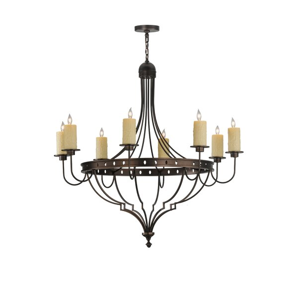 Behling 8 - Light Unique Empire Chandelier By Fleur De Lis Living