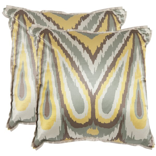 Keri Throw Pillow (Set of 2) by Safavieh