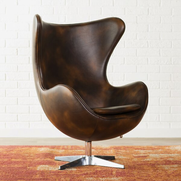 Ailbe Swivel Balloon Chair by Trent Austin Design