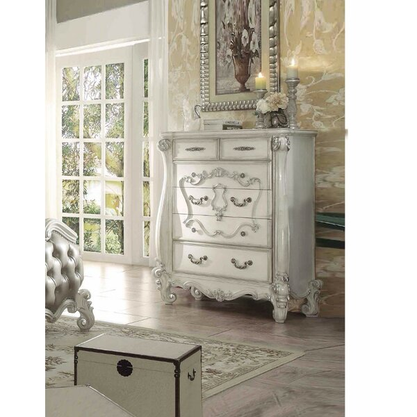 Tion King Style 6 Drawer Chest by Astoria Grand