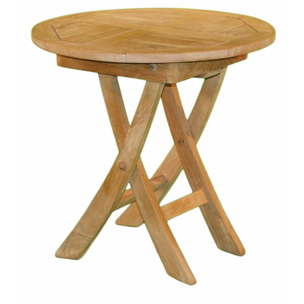 Round Folding Side Table by Jewels of Java