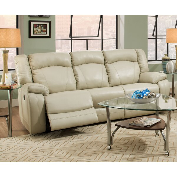 Seatonville Motion Reclining Sofa by Simmons Upholstery by Darby Home Co