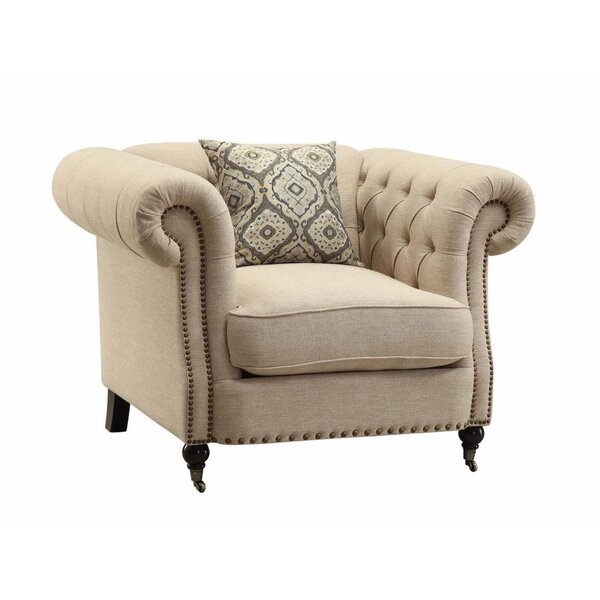 Oribe Chesterfield Chair by Darby Home Co Darby Home Co