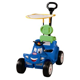 Deluxe 2 In 1 Cozy Roadster Push Scoot Ride On By Little Tikes