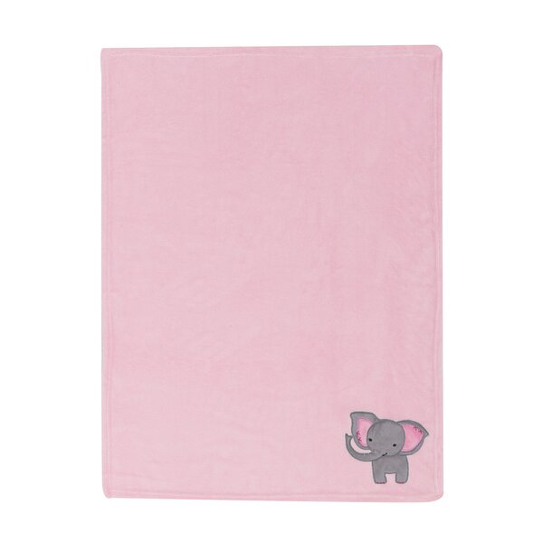Twinkle Toes Bedtime Originals Elephant Blanket by Lambs & Ivy Signature