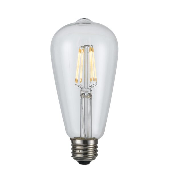 6W E26 LED Edison Light Bulb by Cal Lighting
