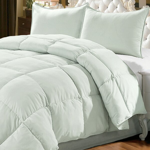 Down Alternative 3 Piece Comforter Set by Serenta