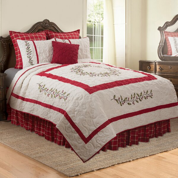 Feinberg Reversible Quilt Set by The Holiday Aisle