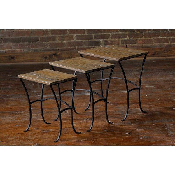 Elige 3 Piece Nesting Tables by Fleur De Lis Living
