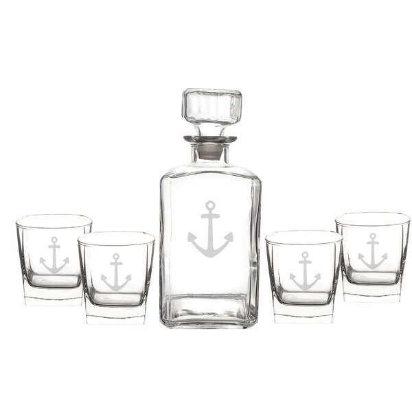 Anchor Decanter Set by Cathys Concepts