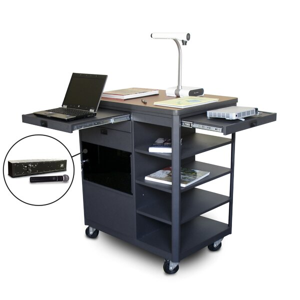 Vizion Presenter Multimedia AV Cart by Marvel Office Furniture