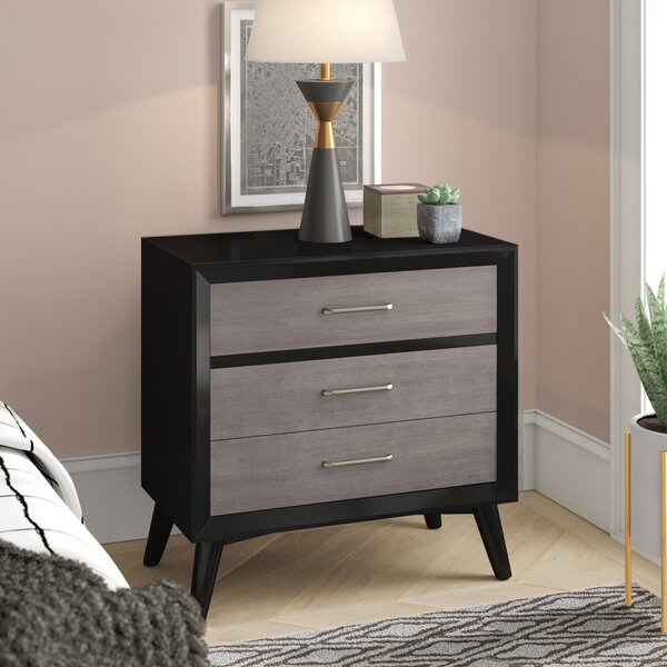 Mccarley 3 Drawer Nightstand By Ivy Bronx by Ivy Bronx Coupon