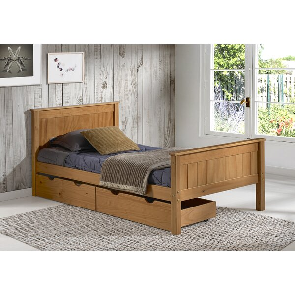 Ratcliff Slat Platform Bed with Drawers by Alcott Hill
