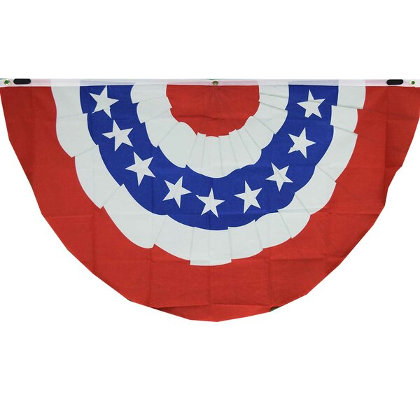 American 2-Sided Polyester 3x5 ft Bunting Flag by NeoPlex