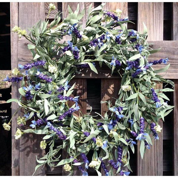 22 Lavender Wreath by Flora Decor
