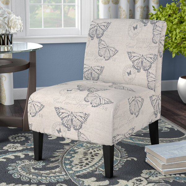 Libertyville Lily Slipper Chair by Andover Mills
