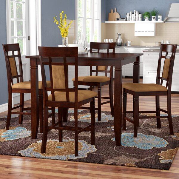 Boston 5 Piece Counter Height Dining Set by Red Barrel Studio