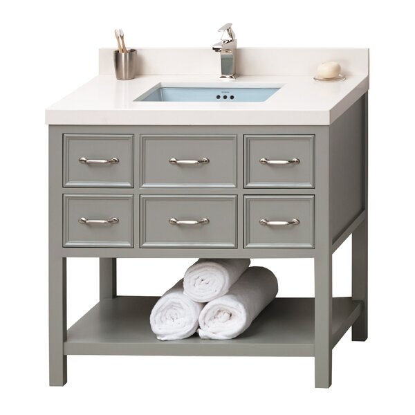 Newcastle 36 Single Bathroom Vanity Set by Ronbow