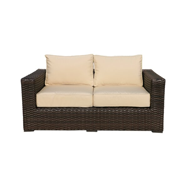 Woodham Loveseat with Cushions by Red Barrel Studio