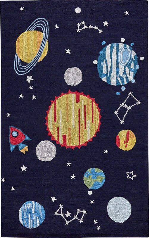 Birch Lane Kids Solar System Rug Amp Reviews Wayfair Ca