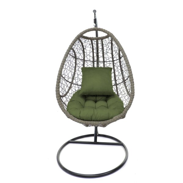Rachele Outdoor Bird's Nest Hanging Porch Swing by Bungalow Rose