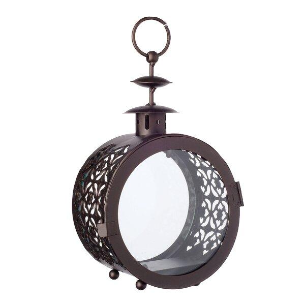 Round Metal Lantern by Bloomsbury Market