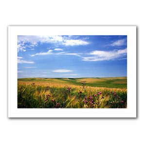 Field of Dreams' by Kathy Yates Photographic Print on Rolled Canvas by ArtWall