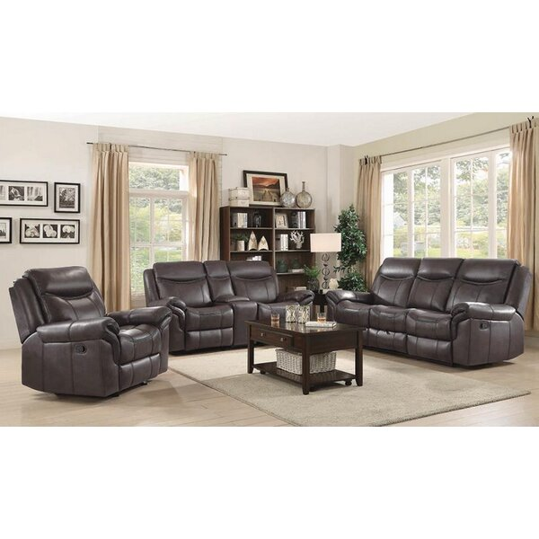 Nyberg Motion 3 Piece Reclining Living Room Set by Red Barrel Studio