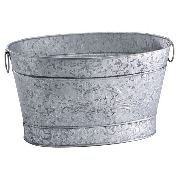 Crab Beverage Tub by Home Furnishings by Larry Traverso