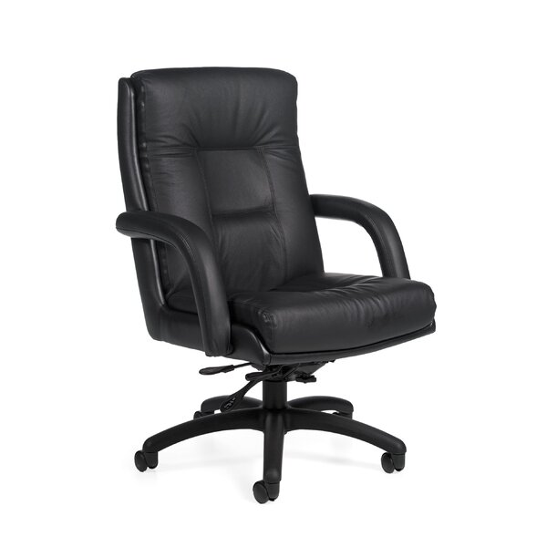 Arturo Leather Executive Chair by Global Total Office