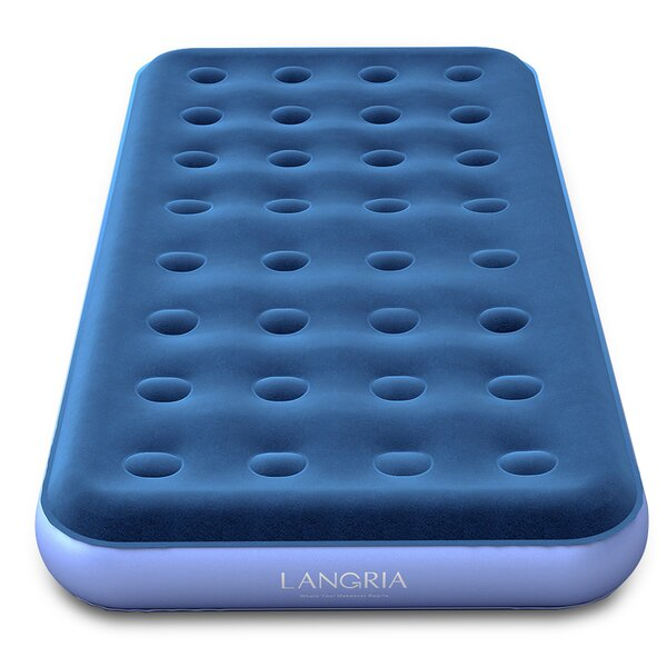 Upgraded Inflatable 7 Air Mattress by LANGRIA