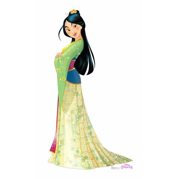 Mulan Life Size Cardboard Cutout by Advanced Graphics