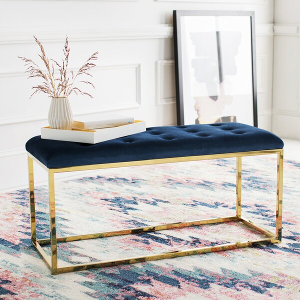 Bridport Upholstered Bench by Everly Quinn