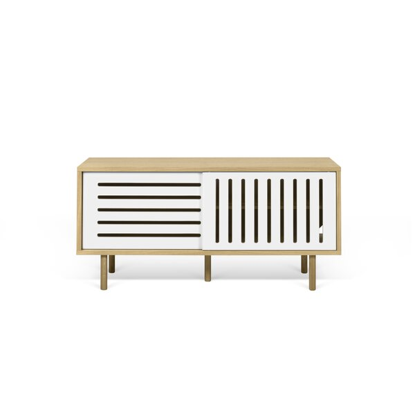 Stacey 135 Stripes Buffet Table by Corrigan Studio